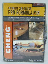 CONCRETE COUNTERTOP PRO-FORMULA MIX 1 BAG COLOR WINE CHENG