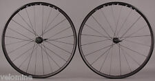 H + Plus Son Archetype Black Rims Road Bike Wheelset 24/20 DT Competition Spokes