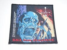 BLOOD FEAST KILL FOR PLEASURE WOVEN PATCH