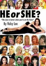 2006-02-15, He or She?, Vicky Lee, Very Good, -- General, Human, ., Book