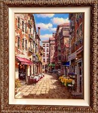 SAM PARK Original Oil Painting On Canvas Hand Signed Custom Framed Ready to Hang