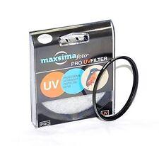 Maxsimafoto 52mm UV Filter for Panasonic FZ47 FZ48 FZ60 FZ62 FZ100 FZ150 FZ200