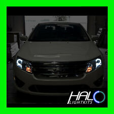 2010-2012 Ford Fusion ORACLE WHITE LED DRL Light Headlight Halo Rings Kit