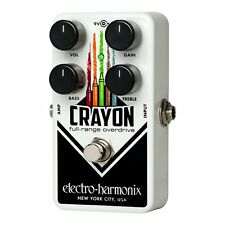 Electro-Harmonix CRAYON-69 Full Range Overdrive True Bypass Guitar Pedal EHX