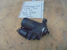 VOLKSWAGEN GOLF 1.6 SR 5 DOOR STARTER MOTOR MARK 4 2000