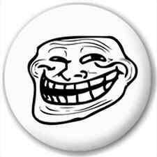 Troll Face 25Mm Pin Button Badge Lapel Pin