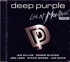 DEEP PURPLE live at montreux 1996 + 2 bonus tracks CD NEU