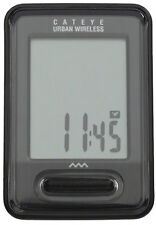 CATEYE URBAN--CC-VT220W WIRELESS BLACK BICYCLE SPEEDOMETER COMPUTER