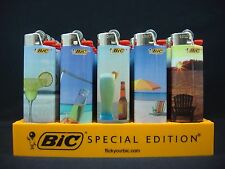 12 Bic Vacation Fun At The Beach Regular Disposable Lighters (1 Lighter/Design)