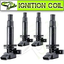 Set  of 4 ignition coil packs For  00-08 Toyota Corolla CE Sedan 4-Door 1.8L l4