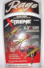 "@NEW@ Rage X-treme Broadheads! 2.3"" Cut/100 Grain/2 Blade #51000 extreme"