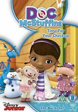 Disney Junior Doc McStuffins Time For Your Check-up Childrens Kids DVD **New**