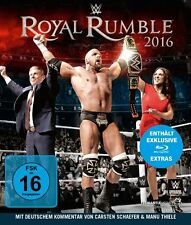 WWE Royal Rumble 2016 Blu-ray NEU Deutsche Verkaufsversion Deutscher Kommentar