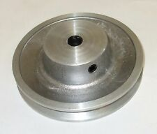 "Aluminium Vee belt water pump pulley, 12mm bore   4"" (100mm) diameter"