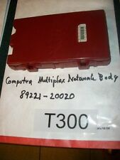 TESTED 2004 CELICA COMPUTER MULTIPLEX NETWORK BODY CONTROL BCM 89221-20020 #T300