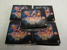(5) Upper Deck Huntik Trading Card Game TCG Legendary Saga Boxes - 24 Packs/Box