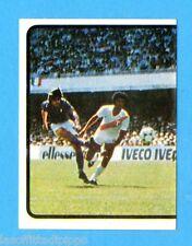 PANINI CALCIATORI 1982/83 -Figurina n.292- ITALIA PERU' 1-1 GOL DI CONTI SX-Rec