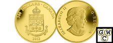 2012 'Quebec Coat of Arms' Proof $300 Gold Coin 14K (12946)