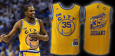BRAND NEW Kevin Durant Golden St. Warriors Yellow Jersey Men Med