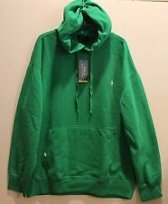 Polo Ralph Lauren Mens Green Performance Pullover Hoodie Sweatshirt NWT L