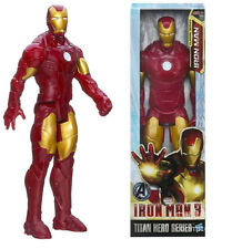"Hot Comic Book Heroes Avengers Marvel Titan 12"" figure Red Iron man Toy"