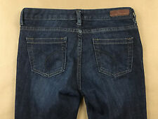 CALVIN KLEIN WOMENS STRETCH SLIM BOOTCUT DARK JEANS TAG SIZE 27/4 ACTUAL 29