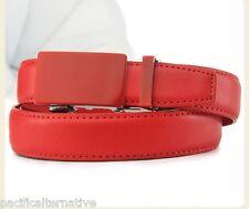 Ceinture rouge Taille 44 pour FEMME fille belt red woman automatique à cliquet