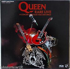QUEEN Laserdisc RARE Live A Concert Through Time and Space Japan LD