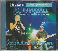 John Mayall + Eric Clapton + Mick Taylor - 70th Birthday Concert , CD+DVD Neu