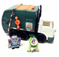 Fisher Price Imaginext Toy Story Sunnydale Dump Truck & Figures Toy, Raro Artículo!