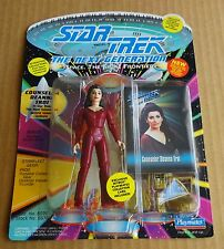 "PLAYMATES STAR TREK NEXT GEN ""COUNSELOR DEANNA TROI""  FIGURE NEW/UNOPENED 1993"