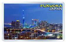 FUKUOKA JAPAN FRIDGE MAGNET SOUVENIR IMAN NEVERA