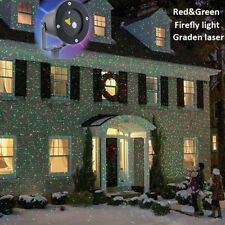 2X Red Green Laser Waterproof Outdoor Landscape Garden Projector Holiday Light