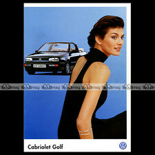 ★ VW VOLKSWAGEN GOLF CABRIOLET ★ 1997 - Brochure  Catalogue PUB #BA111