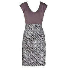 new RRP $120 JACQUI E WATERFALL STRETCH DRESS 14 FREE POST more sz in store