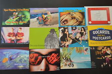 "Lot of 12  ""COOL GRAPHICS"" ART  ADVERTISING POSTCARDS  artistic NOS  photos frog"