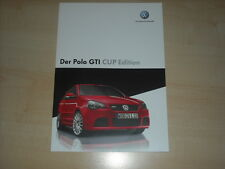 64959) VW Polo 9N GTi Cup Edition Prospekt 06/2006