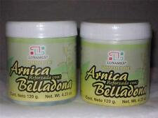 2-PACK))) POMADA BELLADONA CON ARNICA -100% NATURAL-OINTMENT MUSCLE PAIN RELIEF