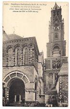 basilique cathédrale de n.d du puy ,le porche du for et le clocher