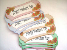 12 HAPPY MOTHERS DAY SENTIMENT CARD MAKING SCRAPBOOKING CRAFT EMBELLISHMENTS