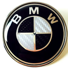 Fits BMW 74mm Carbon Fibre Boot Badge Emblem Roundel - E46, E82, E90 (Trunk) bmw