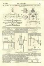 1894 Navigable Balloon Antwerp Exhibition Trolley And Motor Dryness Of Steam