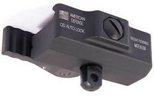 American Defense BASE / Picatinny Mount for HARRIS BIPOD Quick Release QR