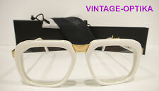CAZAL 616 EYEGLASSES VINTAGE LEGEND (COL-180) WHITE GOLD NEW AUTHENTIC P DIDDY