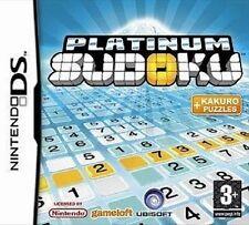 PLATINUM SUDOKU                -----   pour DS