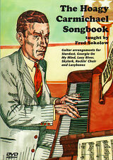 THE HOAGY CARMICHAEL SONGBOOK Guitar Lessons Video DVD With TABs by Fred Sokolow
