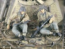 Verlinden 1/35 German Waffen-SS Tank Riders WWII (2 Figures) [Resin Model] 2263