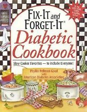 Phyllis P Good - Fix It And Forget It Diabetic (2005) - Used - Trade Paper