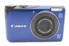 Canon PowerShot A2200 14MP 2.7'' SCREEN 4X DIGITAL CAMERA BLUE (NO BATTERY)