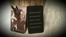 Engraved Picture Wallet Card, Front & Back Engraving, Photo Personalized Insert